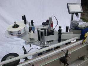 Автоматическая этикетировочная машина для круглых бутылок для несухого клея, этикетировочная машина для деревянных ящиков / экспортной упаковки для CE