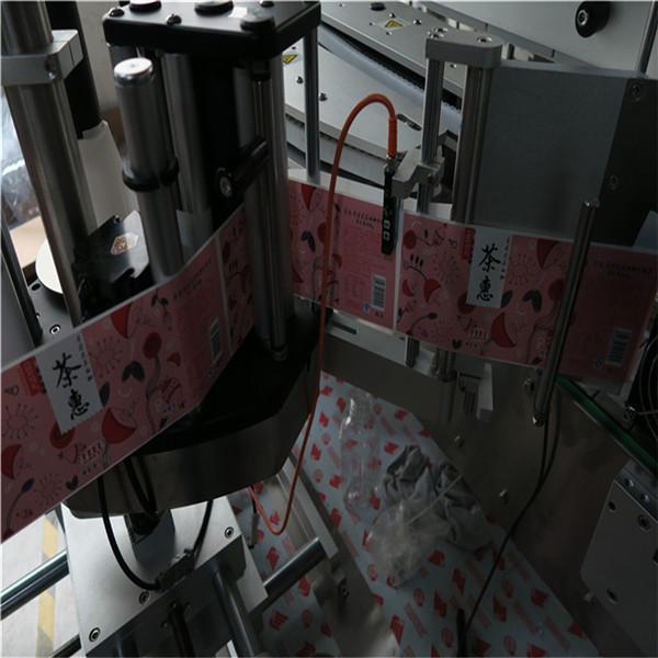 Автоматическая этикетировочная машина для квадратных и круглых бутылок 50HZ 2300W Power system