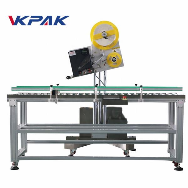 Аппликатор ярлыка автоматического конверта промышленный для коробки бумаги мелкомасштабной продукции