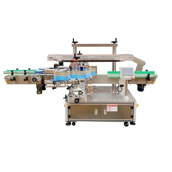 Автоматическая машина для прикрепления этикеток пластиковой бутылки двойной стороны стикера 12 месяцев гарантии