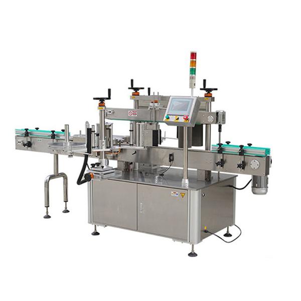 Автоматическая машина для прикрепления этикеток стикера круглой бутылки с принтером даты