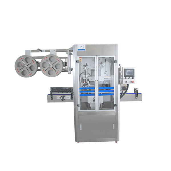 Крышка запечатывая машину аппликатора втулки сокращения нержавеющей стали с парогенератором