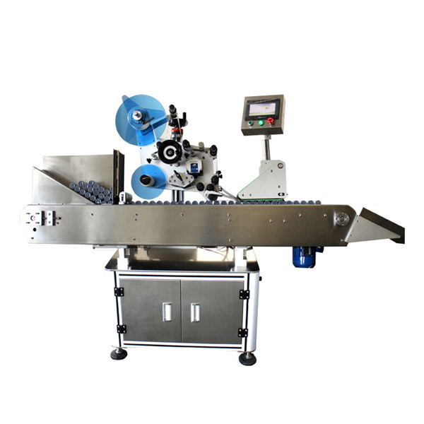 Высокоскоростная этикетировочная машина для промышленных флаконов