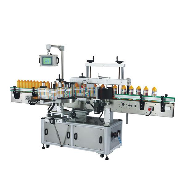 Этикетировочная машина для пластиковых бутылок Odm с ПЛК и сенсорным экраном