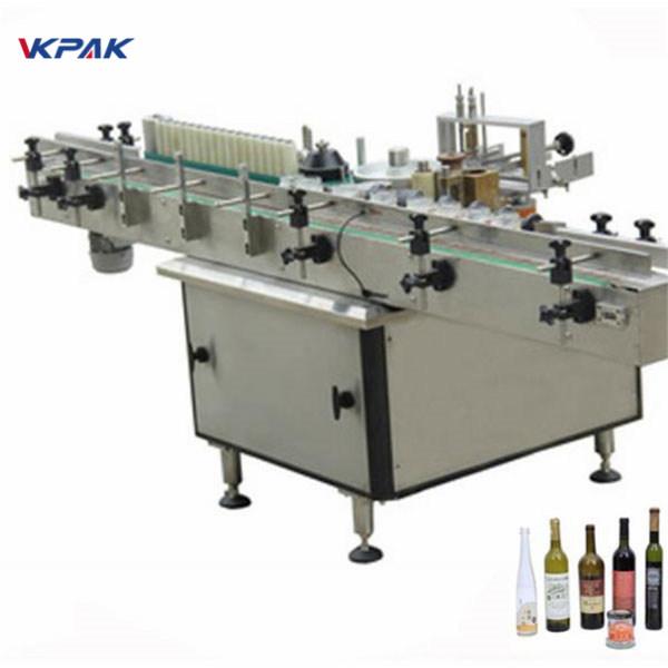 Машина аппликатора ярлыка затира и холодного клея для различных бутылок автоматических