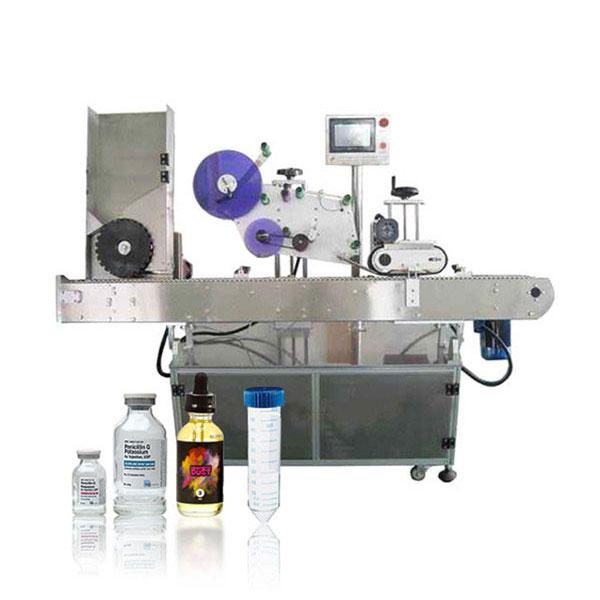 Автоматическая горизонтальная этикетировочная машина с сервоконтроллером Siemens Plc для флаконов
