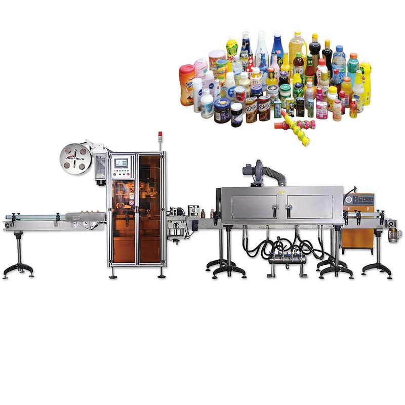 Общие машины для прикрепления этикеток сокращения запечатывания крышки бутылки с продолжительностью жизни