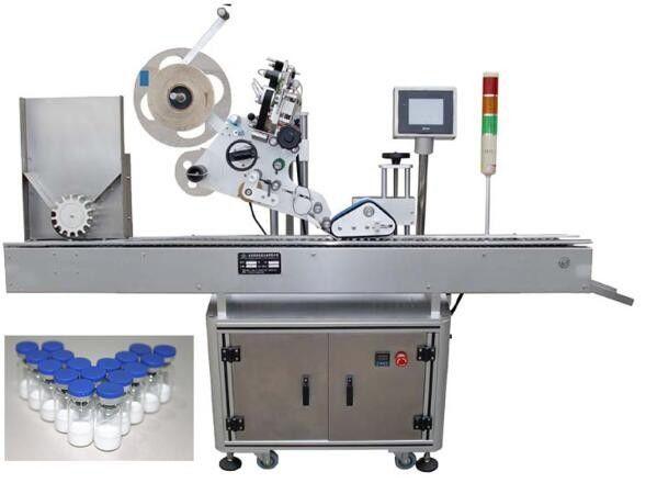 Этикетировочная машина для небольших бутылок 10 мл для фармацевтических препаратов