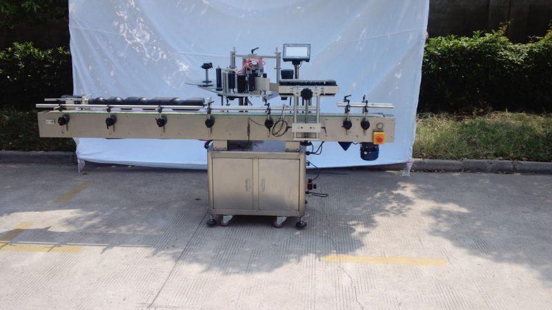 Китай Автоматическая этикетировочная машина для круглых бутылок для несухого клея, этикетировочная машина для деревянных ящиков / экспортной упаковки для поставщика CE
