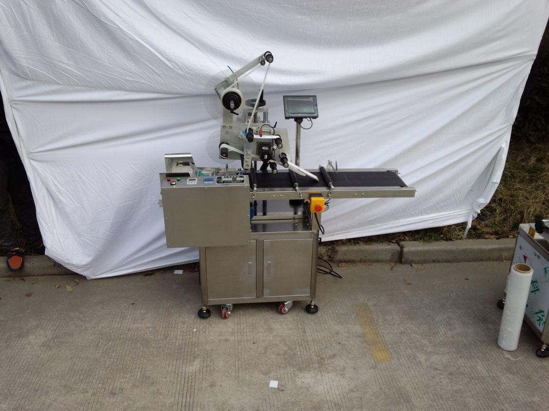 Верхняя этикетировочная машина Аппликатор клейких этикеток Дополнительная машина для кодирования