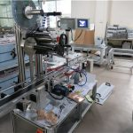 Высокоскоростное оборудование для аппликатора этикеток на плоских поверхностях