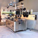 Напитки квадратные бутылки этикетировочная машина двусторонняя этикетировочная машина