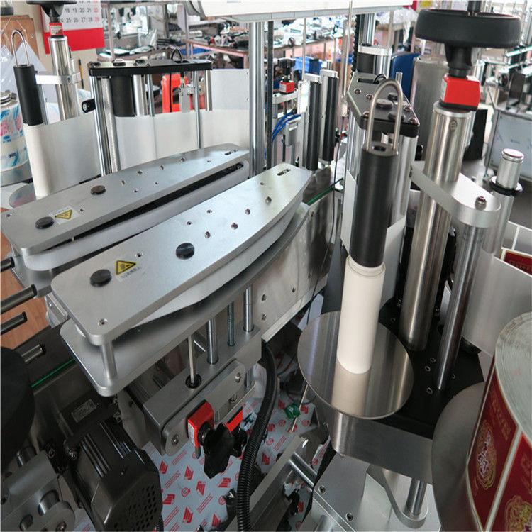 Полностью автоматическая двусторонняя этикетировочная машина с самоклеящейся этикеткой