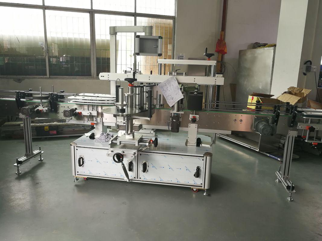 Машина для прикрепления этикеток стикера бутылки сока / вина автоматическая, автоматическая машина этикетировщика