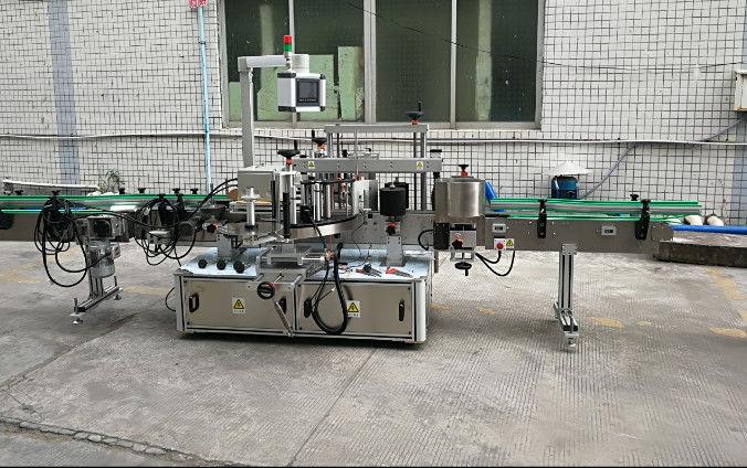 Двухсторонняя автоматическая этикетировочная машина с сервоприводом
