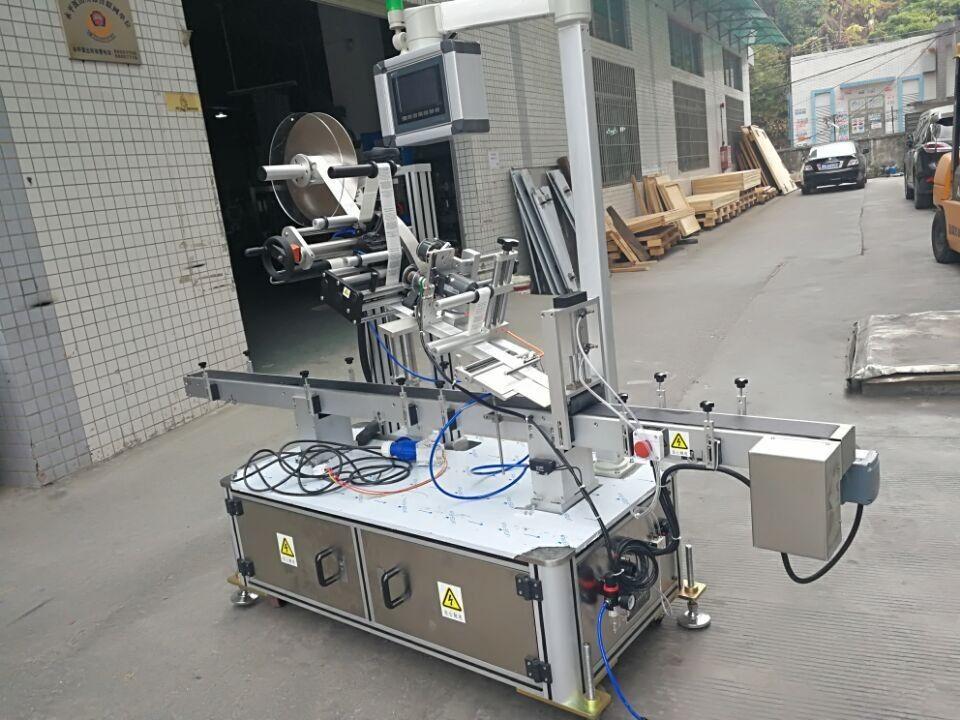 Этикетировочная машина для верхней части наклейки для мешка с соплом с электроприводом