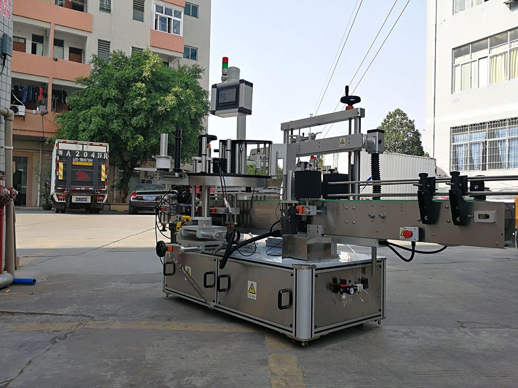 Высокоскоростная автоматическая машина для аппликатора этикеток с трехсторонней квадратной бутылкой