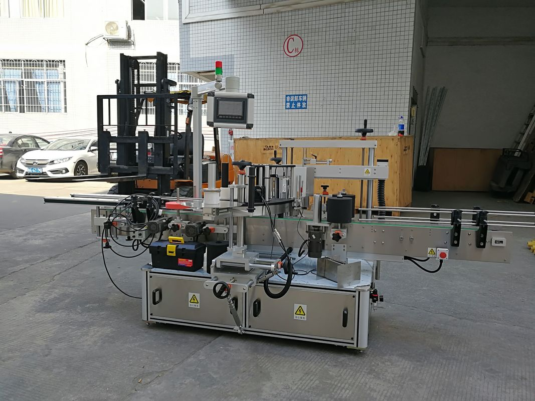 Машина для прикрепления этикеток стикера КЭ автоматическая для небольшого запечатывания углов коробки