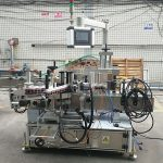 Высокоточная автоматическая двухсторонняя этикетировочная машина для плоских бутылок с наклейками