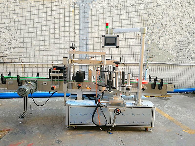 Простая автоматическая этикетировочная машина спереди и сзади с двойной стороной