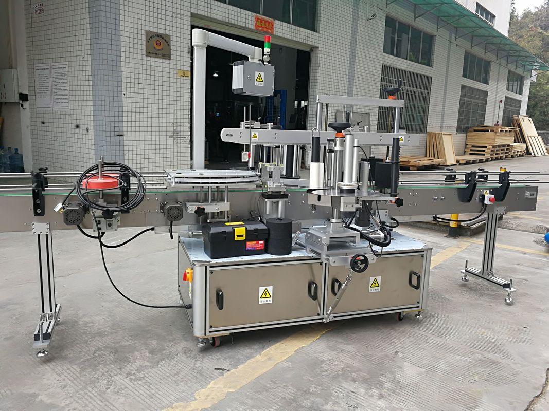 Полностью автоматическая машина для прикрепления этикеток 220В 50ХЗ 1200В стикера углового запечатывания коробки