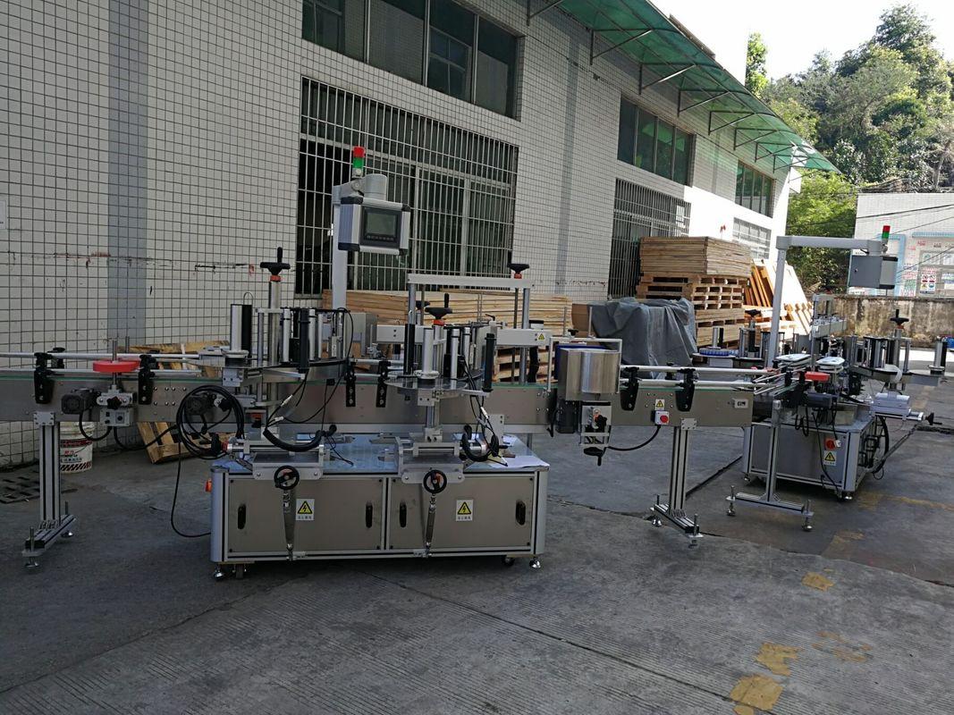 Емкость 5000-8000Б / Х машины для прикрепления этикеток стикера плоской / квадратной бутылки полноавтоматическая